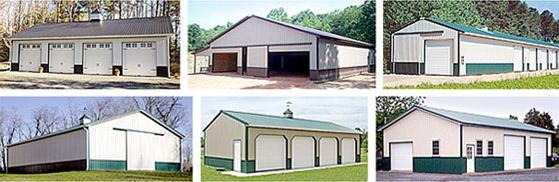 wainscoating options for pole barns