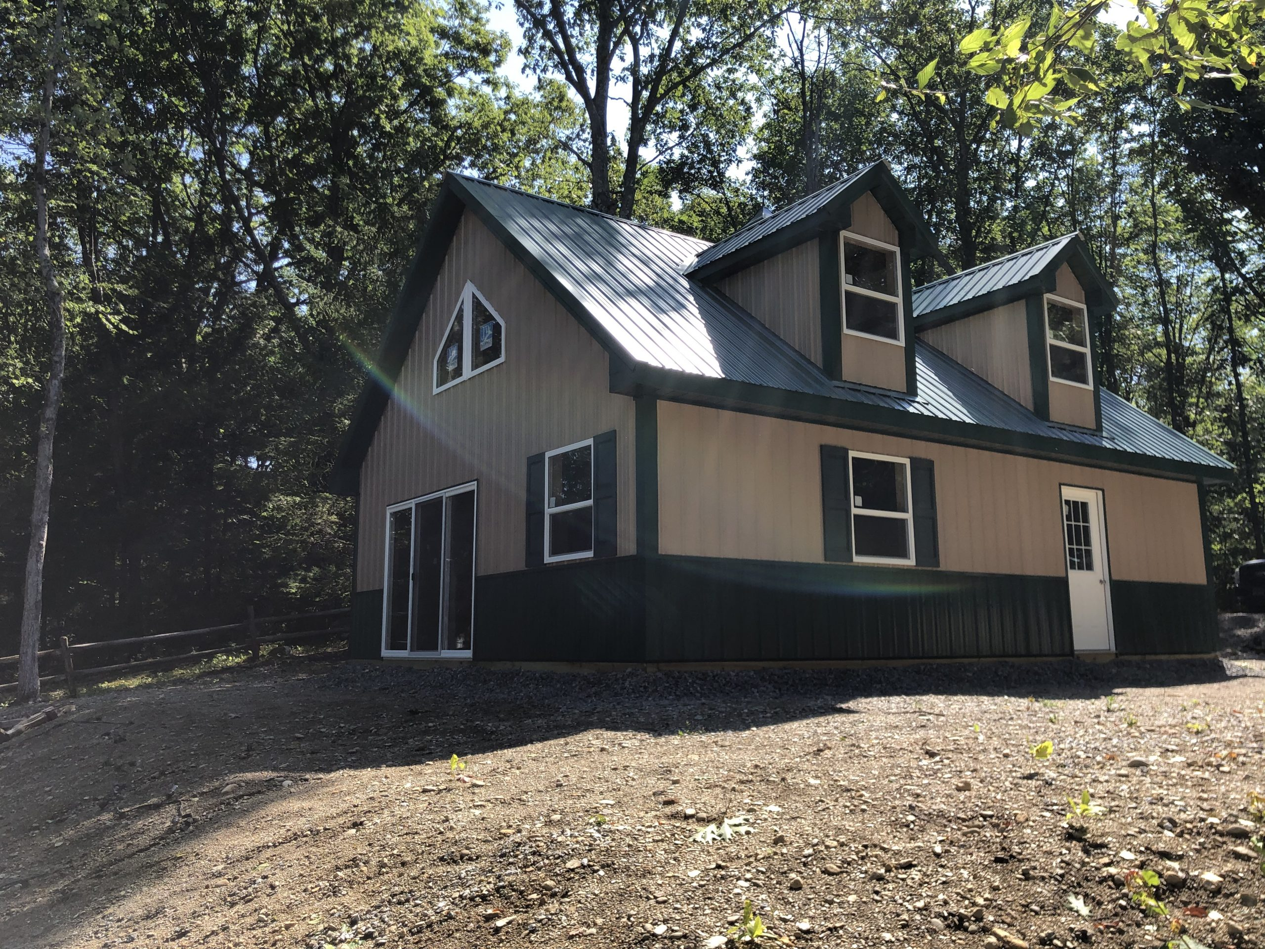 brand new pole barn home in new jersey