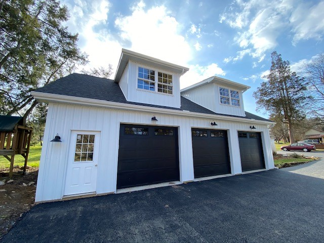 residential garage construction in maryland